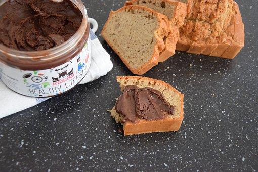 Bread, Peanut Butter, Breakfast