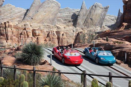 Disney, Disneyland, California Adventure, Cars Land