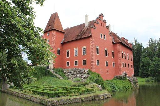 červená Lhota, Castle, Locks, Architecture, Monument