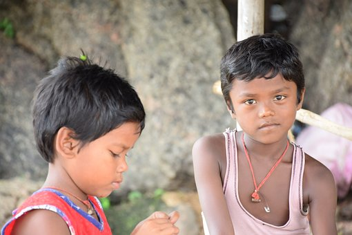 Children, Purulia, West Bengal, India, Ad Photography