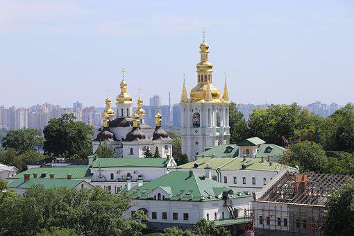 Kiev Pechersk Lavra, Church, Kiev, Kyiv, Ukrainian