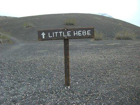 Little Hebe Crator, Crator, Volcano, Death Valley