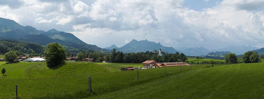 More Slowly Mountain, A View Of St Giles, Heuberg