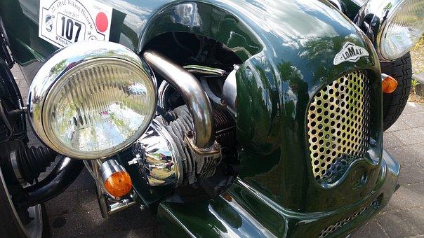 Oldtimer, Auto, Exit, Classic, Vintage Car, Automotive