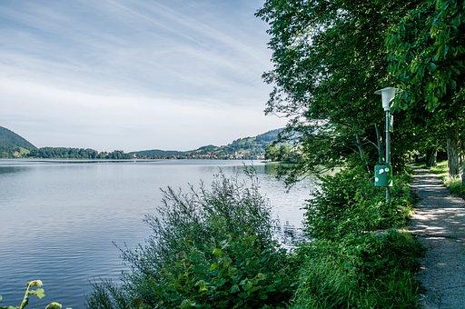 Holiday, Walk, Schliersee