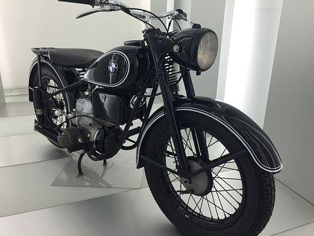 Two Wheeled Vehicle, Bmw, Technology, Motor, Oldtimer