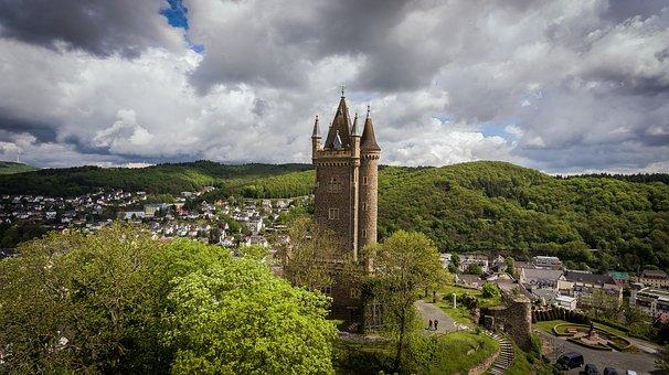 Dillenburg, City, Castle, Wilhelm Storm