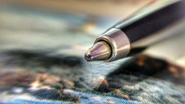 Pen, Macro, Office, Document, Sign, Writing, Job, Write