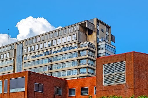 Building, Ancient, Hospital, Medical Center