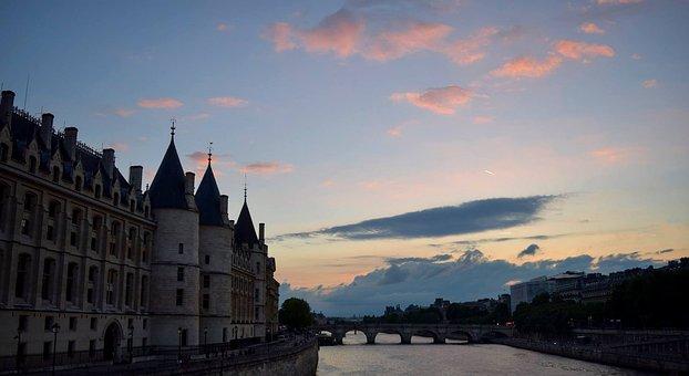 River, Architecture, Bridge, City, Water, Construction