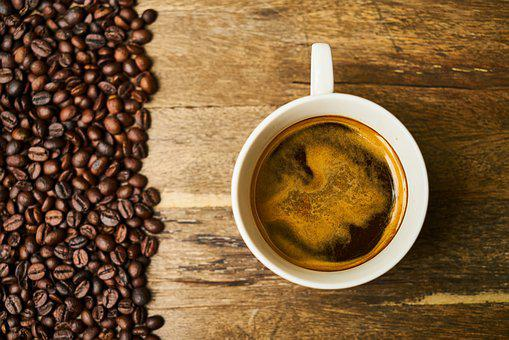 Coffee, Core, Seed, Food, Background, Espresso