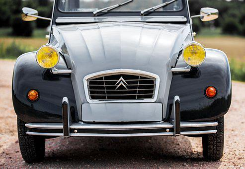 Duck, Oldtimer, Auto, Old, Classic, Citroen, Vehicle