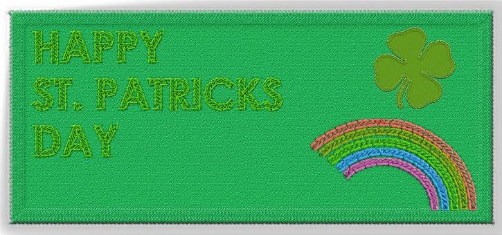 Happy St Patrick's Day, Fabric, Patrick's Day, Holiday