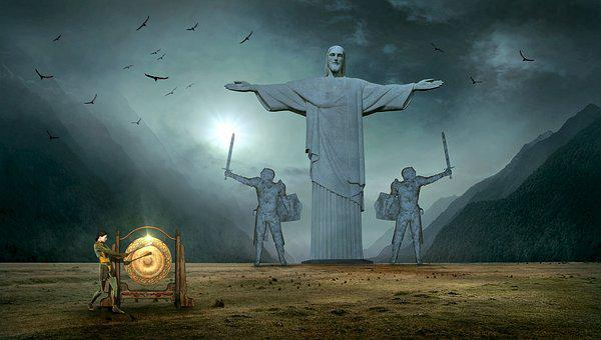 Fantasy, Jesus, Statue, Christ The Redeemer Statue