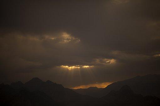 Landscape, Mountain, Cloud, Sky, Nature, Mountains