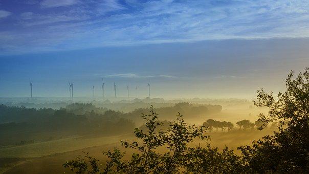 Landscape, Morning, Fog, Mood, Nature, In The Morning