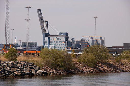Harbour, Crane, Appartments, 2150, Copenhagen, Nordic