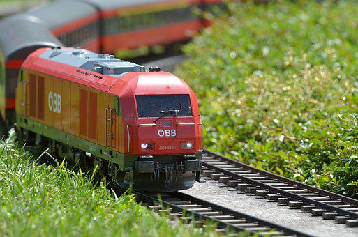 Small Ground, Minimundus, Oebb, Train, Rail, Locomotive