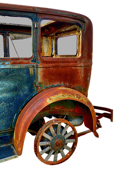 Oldtimer, Old Car, Rarity, Pkw, Rusted, Car Age, Scrap