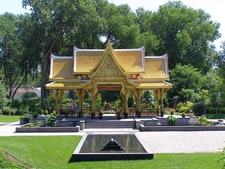 Garden, Temple, Park