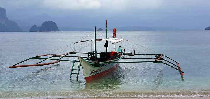 Boat, Philippines, El Nido, Fishing, Sea, Water