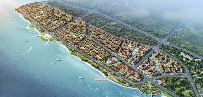 Plan, Small Town, Coast