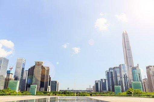 Shenzhen, City, Cityscape, China, Urban, Street