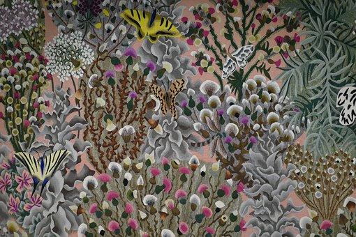 Tapestry, Gobelin, Dom Robert 1907-1997, Benedictine
