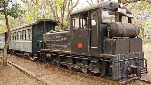 Vintage, Train, Shunter, Railway, Transport, Rail