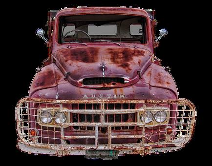 Austin, Truck, Old, Vintage Car, Usa