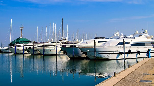 Port, Ship Port, Boat Harbour, Boats, Ships, Sea, Water