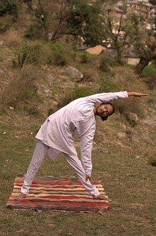 Triangle Pose, Yoga Asana, Yoga, Pose, Fitness, Asana