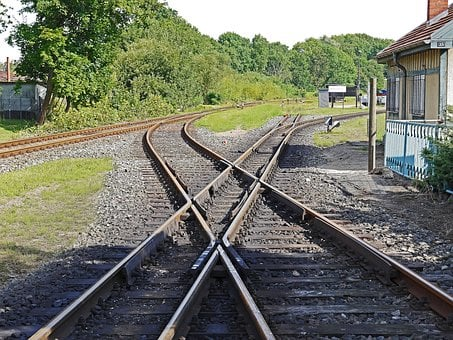 Railway, Track Crossing, Normal Track, 1435 Mm