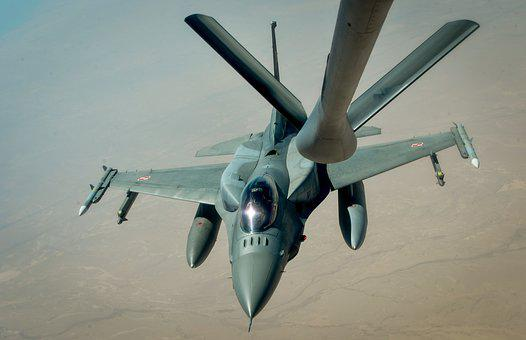 F-16a Fighting Falcon, Belgian Air Force, Refueling