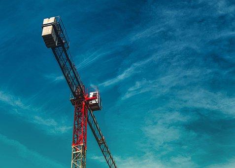 Construction, Crane, Architecture, Business, Cabin