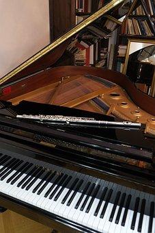 Piano, Music, Flute, Classic, Musical Instrument