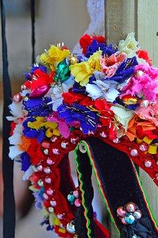 Folk Art, Color, Textile, Folk, Old, Design