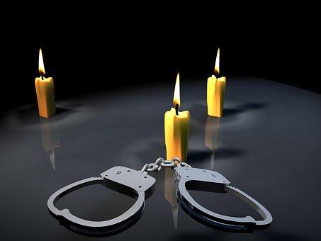 Handcuffs, Candles, Shackles, Erotic, Fantasy