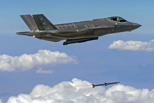 F-35a Lightning Ii, Fighter, Jet, Stealth, Aircraft