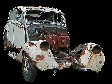 Auto, Old, Old Car, Oldtimer, Car Age, Pkw, Broken