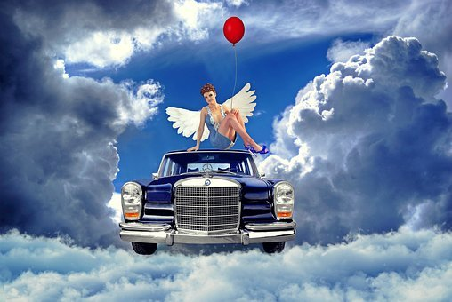 Angel, Pearly, Heavens To, Oldtimer, Mercedes