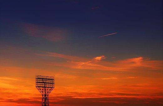 Dawn, Summer, Landscape, Sky, Nature, Sun, Vacation