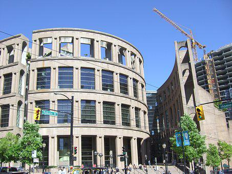 Vancouver Library, Books, Library, Vancouver, Business