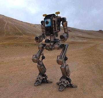 Robot, Robotic, Future, Technology, 3d, Artificial