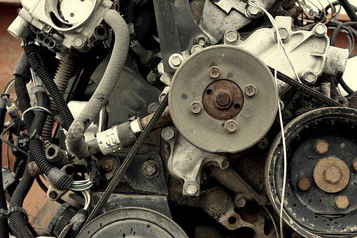 Engine, Vehicle, Gears, Belts, Motor, Auto, Power