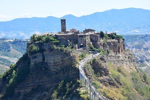 Civita Bagnoregio, Italy, Lazio