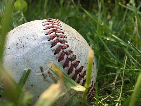 Dirty, Baseball, Ball, Mlb, Major, League, Sports