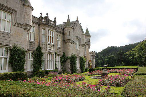 Scotland, Balmoral, Castle, Building, Inhabited
