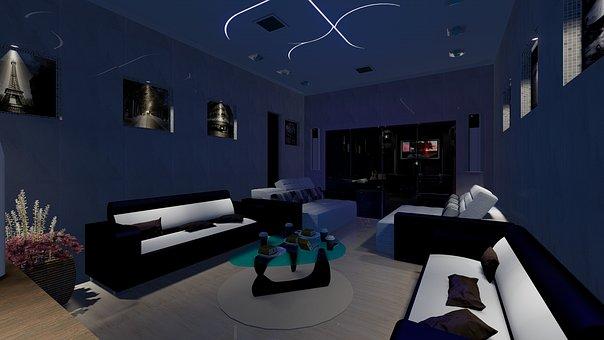Luggage, Tv, Interiors, Sofa, Decoration, Architecture