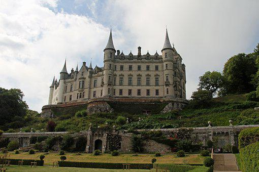 Dunrobin Castle, Inverness, Scotland, Old, Ancient